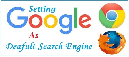 Google as Default Search Engine