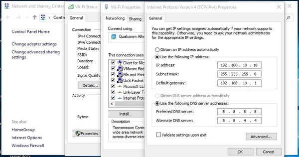 IP Address Assign on Windows Operating System