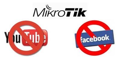 MikroTik Block Website (Facebook, YouTube etc) - System Zone