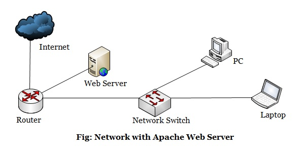 Network With Web Server