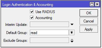 MikroTik Radius Configuration with FreeRADIUS - System Zone